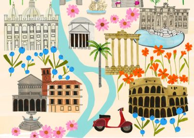 Rome by Anisa Makhoul