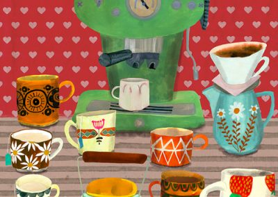 Espresso illustration by Anisa Makhoul