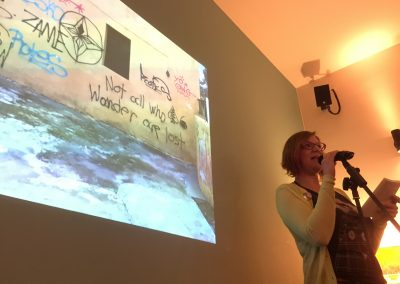 Canan talks about her project City in Translation