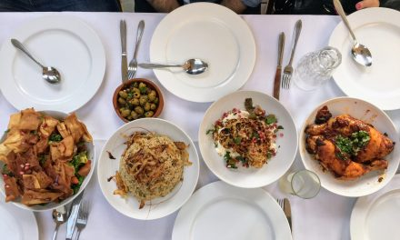 Dinner with Refugees at Havenstraat